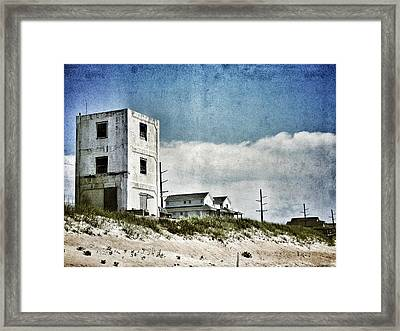 Operation Bumblebee Tower Framed Print