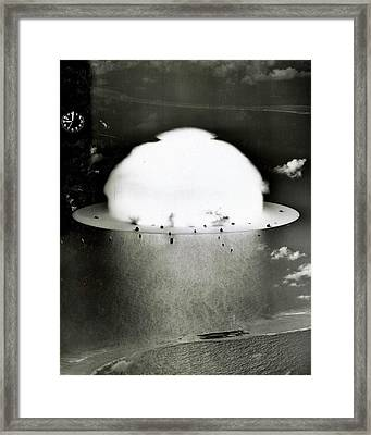 Operation Crossroads Framed Print by Benjamin Yeager