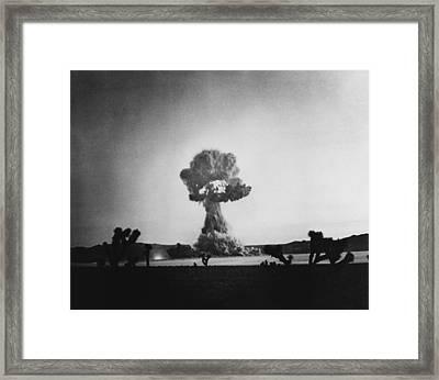 Operation Upshot-knothole Encore, 1953 Framed Print