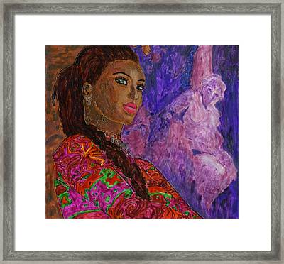 Ophion Batriani Framed Print by Phil Strang