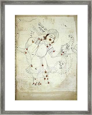 Ophiuchus Constellation Framed Print