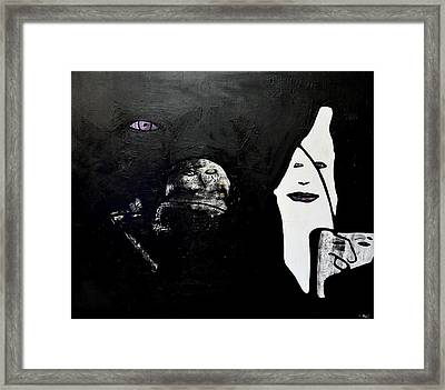 Opinions In Comparison Framed Print