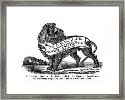 Opium Antidote, 1876 Framed Print by Granger