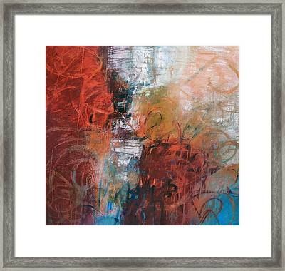 Opposing Forces Framed Print by Filomena Booth
