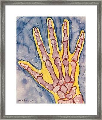 Opposing Thumb Framed Print