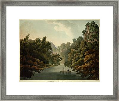 Opposite New Bath Framed Print by British Library