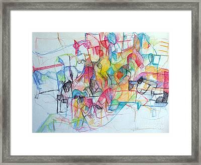 Bseter Elyon 108 Framed Print