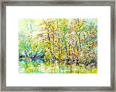 Opposite Riverside Framed Print