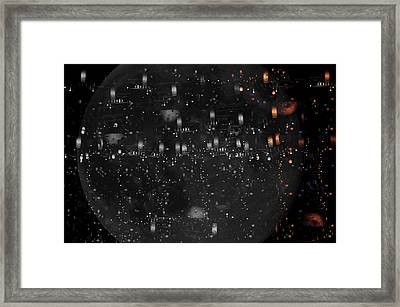 Opposite Worlds Framed Print