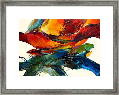 Opposites Attract Framed Print by Jonas Gerard