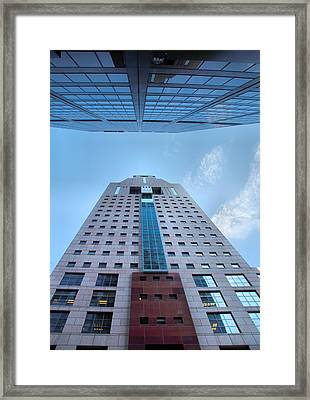 Opposites Attract Framed Print by Steven Ainsworth