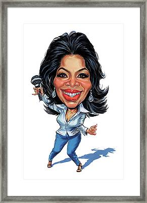Oprah Winfrey Framed Print