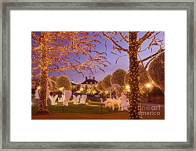 Opryland Hotel Christmas Framed Print by Brian Jannsen