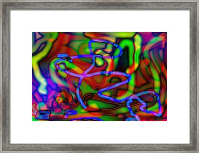 Optical Abstract Framed Print