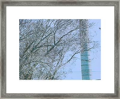Optical Dissonance  Framed Print by Lenore Senior