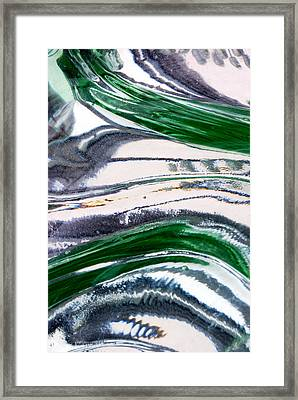 Optical Illusion Framed Print by Wendy Wilton