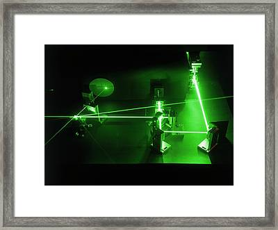 Optical Switch Framed Print