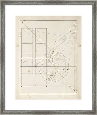 Optical Theories Of Drawing Framed Print