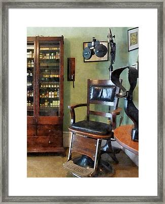 Optometrist - Eye Doctor's Office Framed Print by Susan Savad