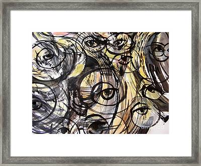 Optometry Framed Print