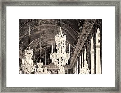 Opulence - Sepia Framed Print