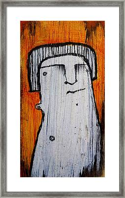 Or As Human As You Know It No 149 Framed Print by Mark M  Mellon