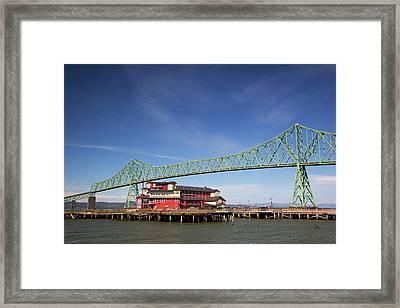 Or, Astoria, Astoria-melger Bridge Framed Print
