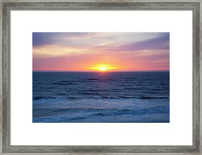 Or, Gleneden Beach State Wayside Framed Print