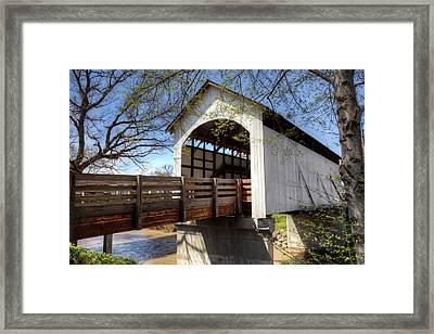 Or, Jackson County, Antelope Creek Framed Print by Jamie & Judy Wild