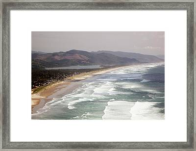 Or, Oregon Coast, Neahkahnie Beach Framed Print