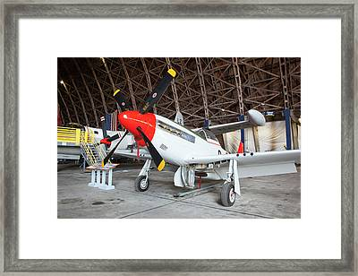 Or, Tillamook, Tillamook Air Museum Framed Print