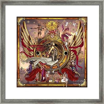 Oracle Of Visions Framed Print by Ciro Marchetti