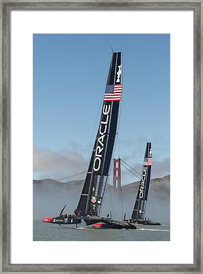Oracle Team Usa - 1 Framed Print