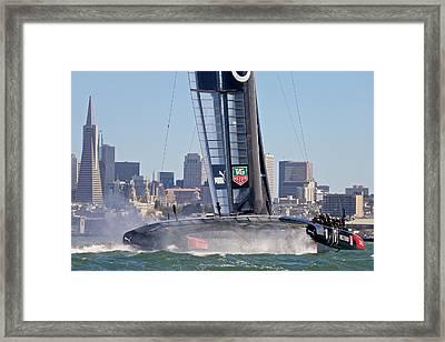 Oracle Wake Framed Print by Steven Lapkin