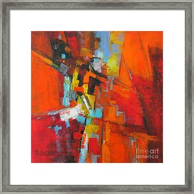 Orange 1 Framed Print