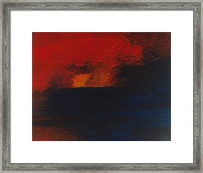 Orange 1985 Framed Print