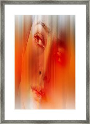 Orange Beauty Framed Print by Nathan Wright
