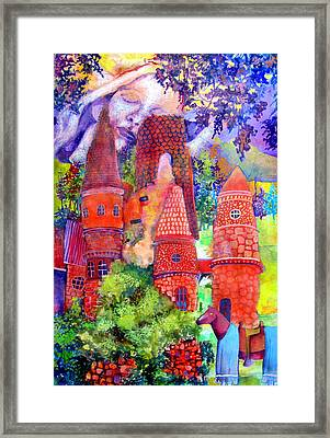 Orange Castle Framed Print