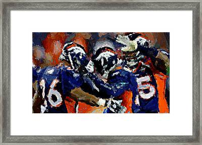 Orange Crush Framed Print