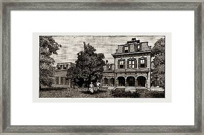 Orange Culture In Florida, U.s.a Framed Print by Litz Collection