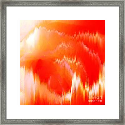 Orange Delight Framed Print by Gayle Price Thomas