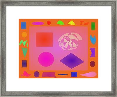 Orange Dream Framed Print by Masaaki Kimura