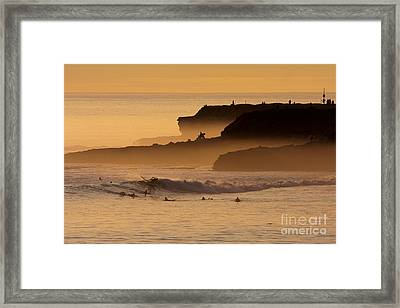 Orange Glow Framed Print by Paul Topp
