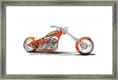 Orange N Tangy Framed Print by Paul Kim