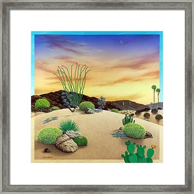 Orange Sky Sunset Framed Print by Snake Jagger