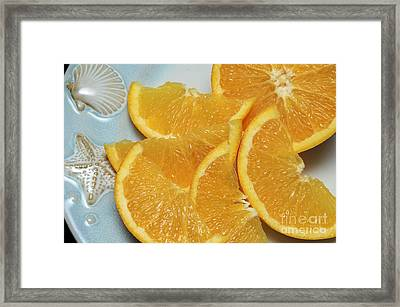 Orange Slices 2 Framed Print
