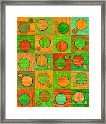 Orange Soup Framed Print by David K Small