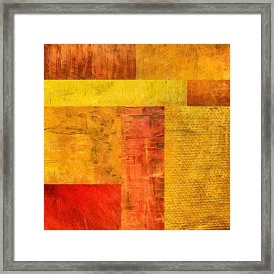 Orange Study No. 1 Framed Print
