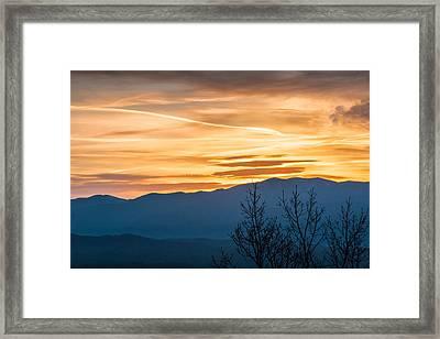 Smoky Mountain Sunrise 3 Framed Print