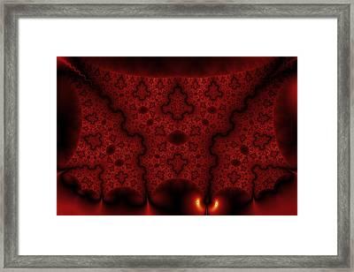 Orange Veil Framed Print by Mark Eggleston